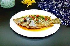 桂鱼为鱼中佳品,清蒸出来味道极其鲜美