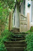 他单身时住3000㎡的山谷,婚后一家三口住进40年森林老宅