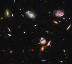 宇宙图片 宇宙的的尽头在哪儿(宇宙全景图)