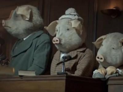 国外内涵创意广告《三只小猪》