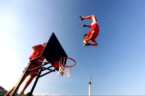 高燃炫技花样篮球短片《大灌篮》