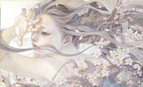 日本插画家平野実穂(Miho Hirano) 的唯美风格插画