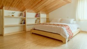 手工达人亲手教你用500元制作一张日式实木床