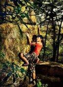 岩舞者:阿诗玛的巅峰之路----她不是在攀岩,而是在跳舞