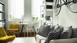 如何让一个小房间看起来更大,更吸引人,更功能化,家居变得更加别致