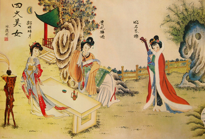 中国古代四大美女留下的秘密(图片)