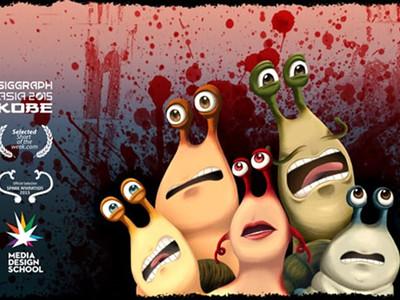 """死神来了""蜗牛版创意动画《Escargore》"